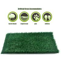 Puppy Potty Traning Pad Artificial Thick Splash-proof Grass Urinal Mat Indoor
