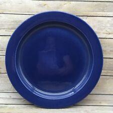 "Retired Pfaltzgraff Treasure Craft 13"" Blue Platter R02-539-00 Mexico"