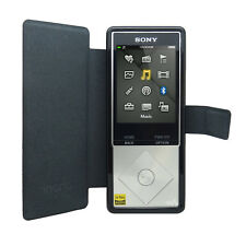 PU Leather Flip Case for Sony Walkman NW-A25 A27 Cover + Screen Protector