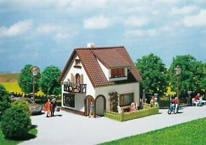 Faller HO Scale Building/Structure Kit Stucco House with Dormer Window