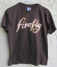 Firefly T Shirt Size Adult S Brown Sci Fi Tv Show Joss Whedon 2011
