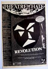 Theatre Of Hate 1984 Poster Ad Revolution