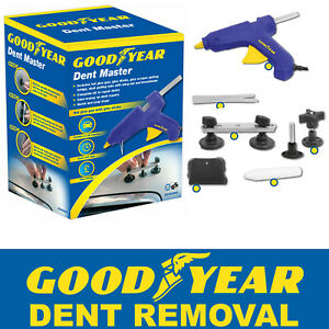 Goodyear Dent Removal Master Car Body Work Repair Kit Remover Puller Panels Ding