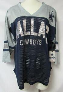 "Dallas Cowboys Womens Size Medium ""Razzle Dazzle"" Jersey Shirt A1 2450"