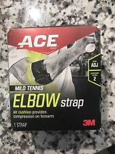 ACE 3M Elbow Support Adjustable Compression & Fit 2 Strap System New Open Box