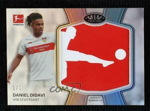 2020-21 Topps Tier One Bundesliga Logo 1/1 Daniel Didavi #TBP-DD Patch