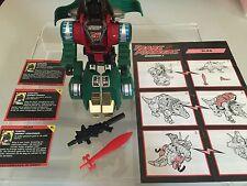 Transformers G2 1993 SLAG complete green dinobot figure EUROPEAN hasbro