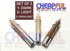TECHNIC CONTOUR STIX Cream Contouring Set Kit Sticks Crayons Bronzer Highlighter