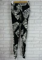 PORTMANS Casual print pants Sz 8 Black and white