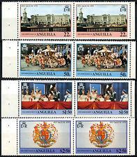 Anguilla 1978 Coronation 25th Anniv MNH Booklet Panes Set #R601