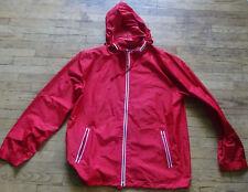 Champs Sports Windbreaker RED Size XL Lightweight w/Hood Vintage