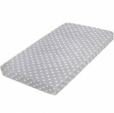 "Crib Mattress and Toddler Bed | Hypoallergenic + Waterproof 27.5""x52""x5"""