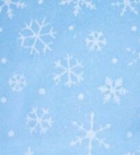 50 Sheets of Delicate Snowflakes on Light Blue Tissue Paper # 872 - Christmas