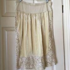 Donna Karan velvet lace skirt