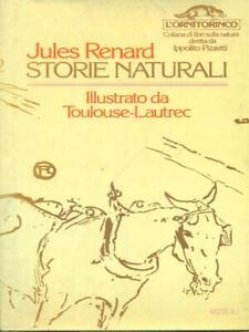 STORIE NATURALI PRIMA EDIZIONE RENARD JULES RIZZOLI 1977 L'ORNITORINCO