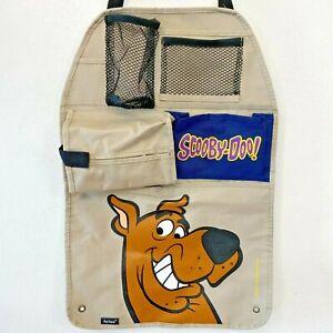 Vtg 1999 Axius Scooby Doo Car Organizer Back of Seat Storage Cartoon Network PB