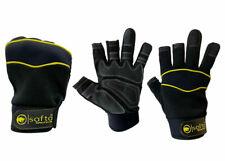 Mechanic Work Gloves Fingerless On Thumb & Forefinger Safety Work Gloves