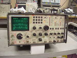 Motorola R2002D/H Communications System Analyzer, Service Monitor with Spectrum