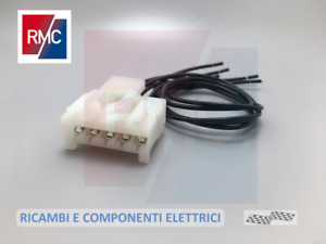 Connettore Cablaggio 5 vie per Fanale Faro Posteriore Fiat Panda 169 Punto 188