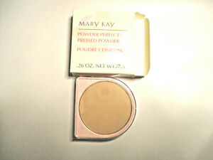 Mary Kay ~  Powder Perfect Pressed Powder .74 Oz. IVORY 6247 ~ New in box
