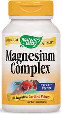 Magnesium Complex - 100 Capsules - Nature's Way