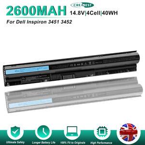 14.8V 2600mAh M5Y1K Battery For Dell Inspiron 15 5555 5558 5559 5755 WKRJ2 K185W