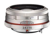 PENTAX Telephoto Single Focus Lens HD DA 70mm F2.4 Limited Silver K mount APS-C
