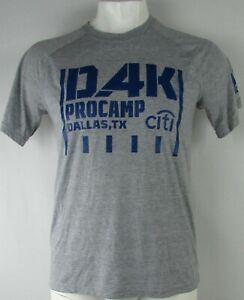Dallas Cowboys NFL Dak Prescott Adidas Men's Gray Short Sleeve T-Shirt