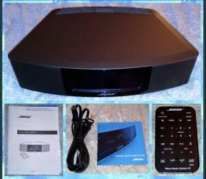 Bose Wave Radio Music System IV 417788-WMS Black AM/FM CD Player~NEW NO BOX~L👀K