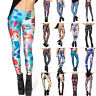 Women 3D Printed Sports Yoga Gym Casual Fitness Leggings Pants Trousers Bottoms