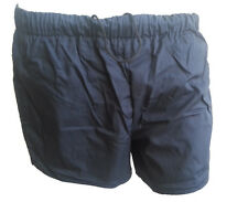"""Men & Boys Dark Blue Sports PT Shorts as used by the British Army size 30"""" waist"""