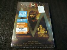The Mummy Trilogy (DVD, 2012, 3-Disc Set)