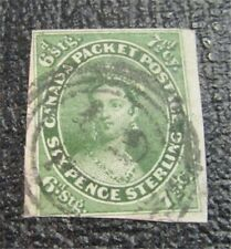 nystamps Canada Stamp # 9 Used $3250