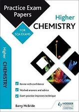 Higher Chemistry Practice Exams Papers