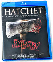 Hatchet Unrated Director's Cut ! ~ NEW SEALED