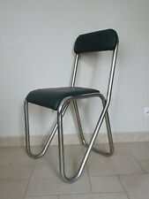 ancienne chaise ANDRE SORNAY design tubular metal chair 1930 plywood art deco