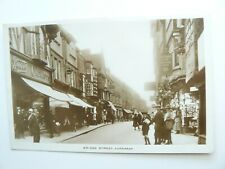 Bridge Street Evesham Real Photo Postcard - 1932 - Worcestershire