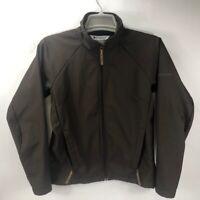 Columbia Omni Shield Women's Zip Up Soft Shell Fleece Lined Jacket Brown M