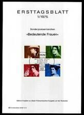 Briefmarken-Ersttagsblätter als Sammlung mit Ersttagsbrief-Erhaltungszustand