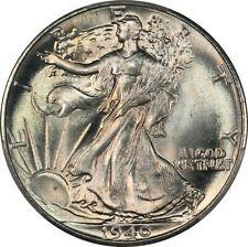 1940 Walking Liberty Half Dollar - PCGS MS66 CAC - Superb Gem BU Blazer, Color!