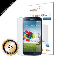 3x Anti-Glare Matte Screen Protector Cover Guard For Samsung Galaxy S4 SIV i9500