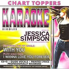 Simpson, Jessica : Karaoke: With You  I Wanna Love You For CD