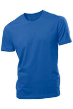 Hanes Plain ROYAL BLUE Organic Cotton Tee T-Shirt Tshirt S-XXXL