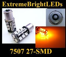 AMBER 7507 27-SMD LED Turn Signal Backup Reverse Lights