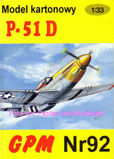 """GPM  92 - North American P-51 D """"Mustang"""" - 1:33"""