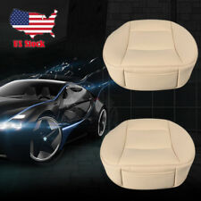 2Pc Luxury PU Leather 3D Full Surround Car Seat Protector Seat Cover Accessories