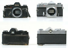 KONICA TC AND KONICA T BODIES FOR PARTS SET OF 2