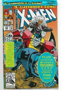 Uncanny X-Men #295 Marvel Comics 1992 NM Sealed Polybagged with Card