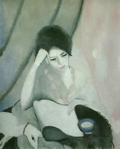 The Reader by Marie Laurencin   Paper Print Repro
