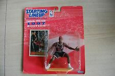 1997 DENNIS RODMAN Chicago Bulls SLU Starting LineUp RED HAIR figure moc
